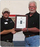 Flag of Freedom Award winner C1 Truck Driver Training