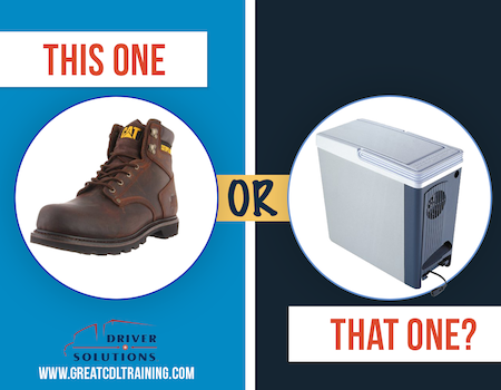 CAT Work Boots vs. Cooler