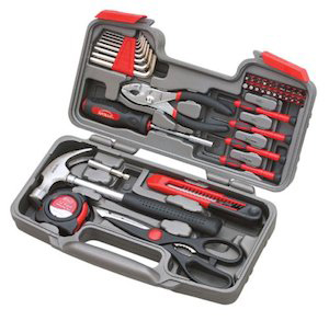 Apollo 39 Piece Tool Set for Truck Drivers