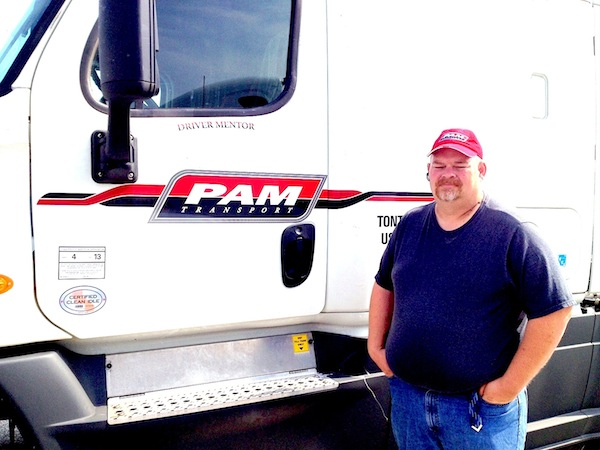 PAM Transport Driver - Chad Shelton