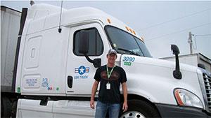John Keaton - USA Truck Driver