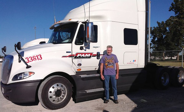 Lonnie Jones - PAM Transport Driver