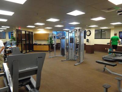 Exercise Room at Whiskey Petes