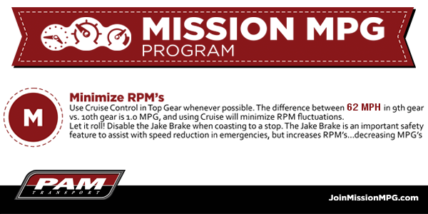 Maximize Truck Driver Pay with MISSION MPG from PAM