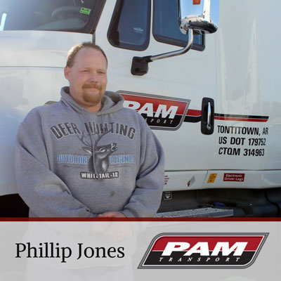 PAM Transport Driver Phillip