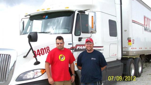 PAM Transport Drivers - Steve O'Briant and Derek Coleman