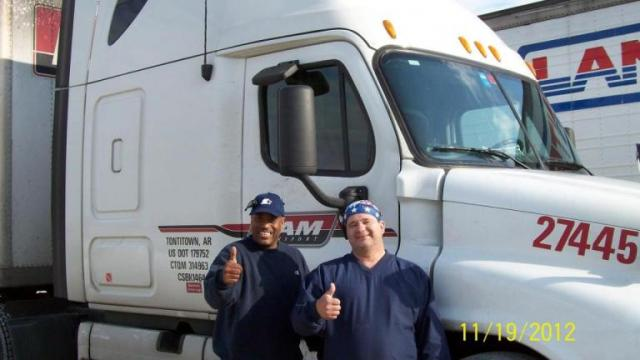 PAM Transport Drivers - Ernest Dunn & Chris Harris
