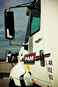 PAM Transport truck