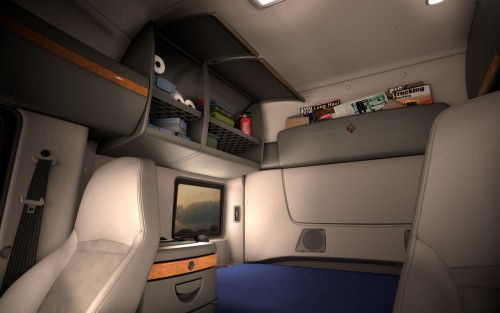 Truck Sleeper Berth