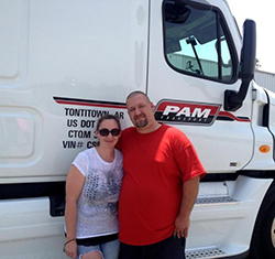 Truck Driving School Couple