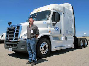 USA Truck Driver Timothy Michael