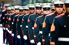 Marines on Veterans Day